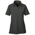 Ladies Milford Proving Ground Under Armour Performance Graphite Gray Polo