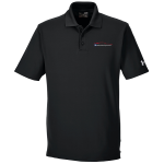 Milford Proving Ground Under Armour Performance Black Polo