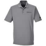 Milford Proving Ground Under Armour Performance True Gray Polo