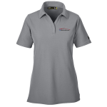 Ladies Milford Proving Ground Under Armour Performance True Gray Polo