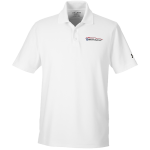 Milford Proving Ground Under Armour Performance White Polo