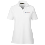 Ladies Milford Proving Ground Under Armour Performance White Polo