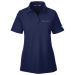 Ladies Milford Proving Ground Under Armour Performance Midnight Navy Polo