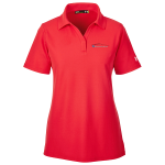 Ladies Milford Proving Ground Under Armour Performance Red Polo