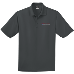 Milford Proving Ground NIKE Golf Dri-Fit Micro Pique Polo Anthracite Gray