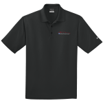 Milford Proving Ground NIKE Golf Dri-Fit Micro Pique Polo Black