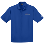 Milford Proving Ground NIKE Golf Dri-Fit Micro Pique Polo Blue Sapphire