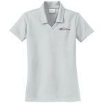 Ladies Milford Proving Ground NIKE Golf Dri-Fit Micro Pique Polo Wolf Gray