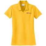 Ladies Milford Proving Ground NIKE Golf Dri-Fit Micro Pique Polo University Gold