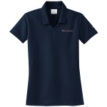 Ladies Milford Proving Ground NIKE Golf Dri-Fit Micro Pique Polo Navy