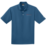 Milford Proving Ground NIKE Golf Dri-Fit Micro Pique Polo French Blue