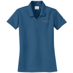 Ladies Milford Proving Ground NIKE Golf Dri-Fit Micro Pique Polo French Blue