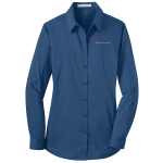 Ladies Milford Proving Ground Dress Shirt Moonlight Blue