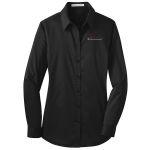 Ladies Milford Proving Ground Dress Shirt Black