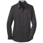 Ladies Milford Proving Ground Dress Shirt Grey Smoke