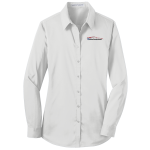 Ladies Milford Proving Ground Dress Shirt White