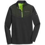 Milford Proving Ground Nike Therma-Fit Pull Over Black/Chartreuse