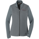 Ladies Milford Proving Ground Nike Therma-Fit Pull Over Dark Gray/Black