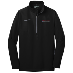 Milford Proving Ground Nike Golf 1/2-Zip Wind Shirt Black