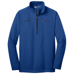 Milford Proving Ground Nike Golf 1/2-Zip Wind Shirt Gym Blue