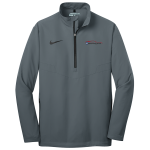 Milford Proving Ground Nike Golf 1/2-Zip Wind Shirt Dark Grey