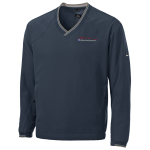 Milford Proving Ground Nike Golf V-Neck Wind Shirt Navy