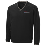Milford Proving Ground Nike Golf V-Neck Wind Shirt Black